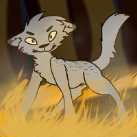 YOU did this to me! --Ashfur-- by babyfawns