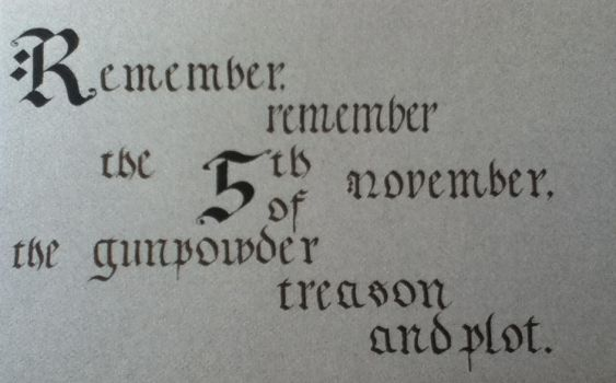 5th of November by 2012ReapeR