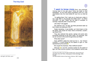 The Almond and The Rose - Pg 211-210 HOLY GRAIL by Kelly2014
