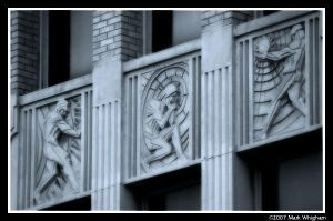 Art Deco on Downtown building by mwhigham