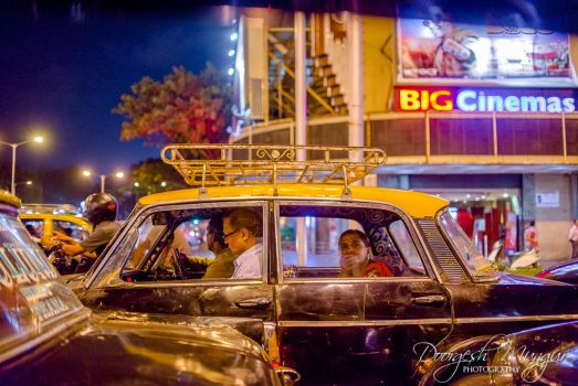 The Taxi by Doorgesh