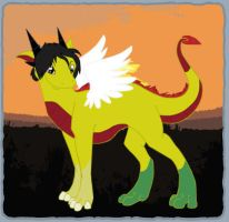 Adric Dragon by AddieFanclub