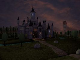 Warlock's Castle Once Again by AmiTheHobbit