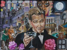 The Great Gatsby Painting by CharlieJacksonPaine3
