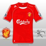 2009,10 Liverpool Shirt by kitster29