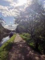 Glaring down the tow path by TheBigDaveC