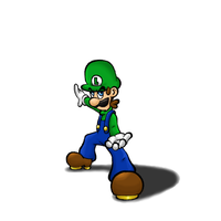 Luigi- Project in Progress by Claudia-Sierra