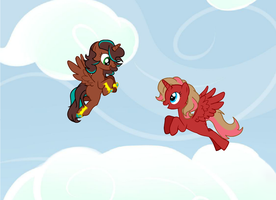 Look At Me I Can Fly by Chocoecaramell