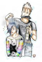 Zemyx - Sexy Boy coloured x3 by Cameco
