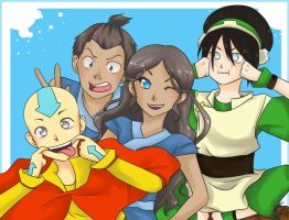 Team Avatar by 8DarkAngel8