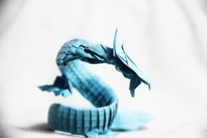 Origami Dragon - Chuka Ryu by KennyQuan