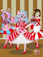 Candy Land Maids by Lovely42