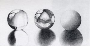 Three spheres by Cal-Erstein
