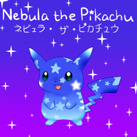 Nebula the Pikachu by Karrotcakes