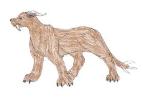 Saber-Toothed Scloth by AmiliaLongTail