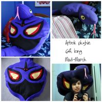 HUGE ARBOK PLUSHIE by Mad-March