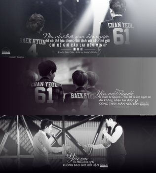[Quote - Falling For ChanBaek] by Rabbit0502