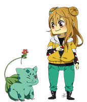 PC: Jordan and Bulbasaur by Lesevex