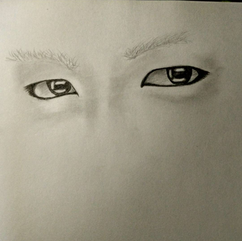 T.O.P's eyes by NaruuXan