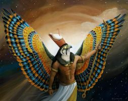 Horus by windfalcon