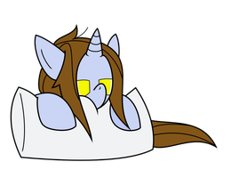 sleepy little filly by thedeseasedcow