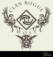 Clan Rogue Wolf Tee by madcoffee