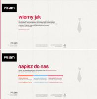 PRiam public relations agency website by michalkosecki