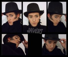 Javert makeup by forestfruits1