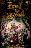 Into the Woods by TheGeekCanPaint