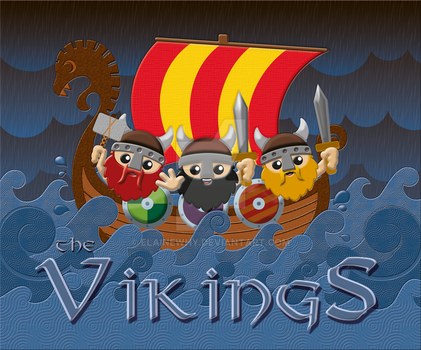 the Vikings! by elainewhy