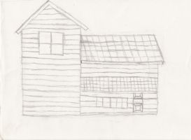 House Sketch by Kuwathen