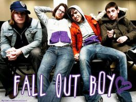 Fall Out Boy all by plkwiii
