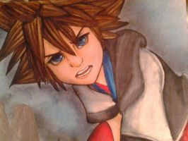 Sora...again :D by Pon3Splash