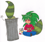 Eatin' Out the Trash by NickyVendetta