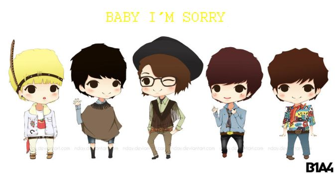 Baby Good Night - B1A4 by nday