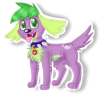 Spike The Dog by Suiseii