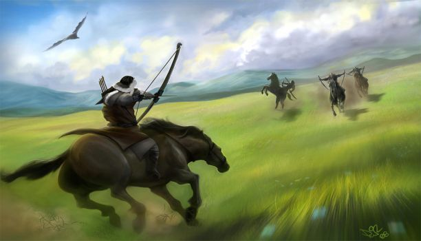 mongols galore by IluvRice