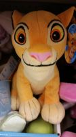 Simba Beanie Plush at my work! by Vesperwolfy87