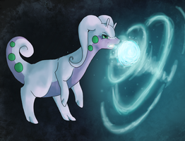 Goodra by Risketch
