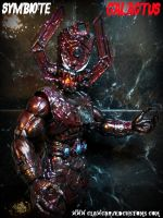 Symbiote GALACTUS Figure by symbiote-x