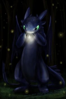$7 lineart - HTTYD Toothless by slifertheskydragon