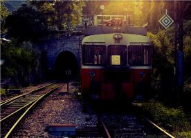 Old Train by lesa0208