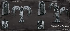 Shades of Sanity - Statues and Structures by Alemja