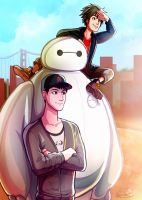 Big Hero 6 by GoldenMuseX