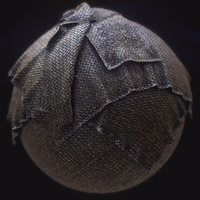 PBR Substance Material - Medieval Chainmail by PLyczkowski