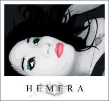 hemera: self portrait vector by toonekked