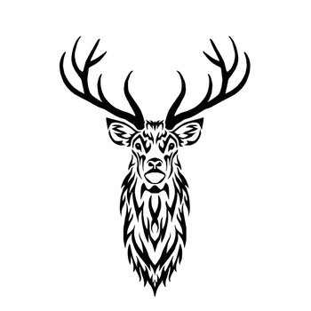 Tribal Stag II by Hareguizer