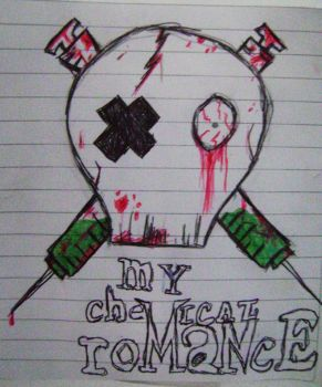 MCR skull by Roohdarkmetalsuicide