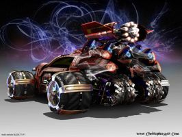 multi vehicle BUGATTI F1_Back by changiz