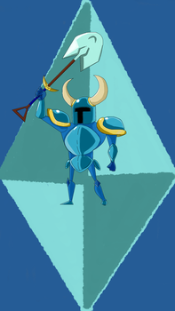 Shovel Knight by NinjaOnAcid